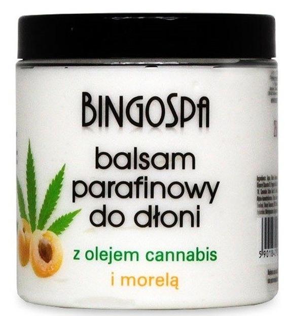 BingoSpa Balsam parafinowy do dłoni z olejkiem Cannabis 250g