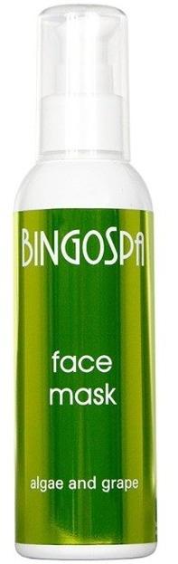 BingoSpa Maska do twarzy algowo-winogronowa 150g