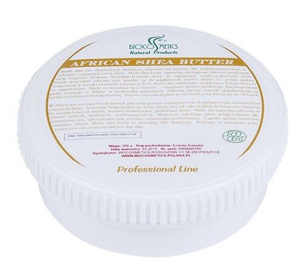 Biocosmetics- Naturalne masło shea karite, 200g