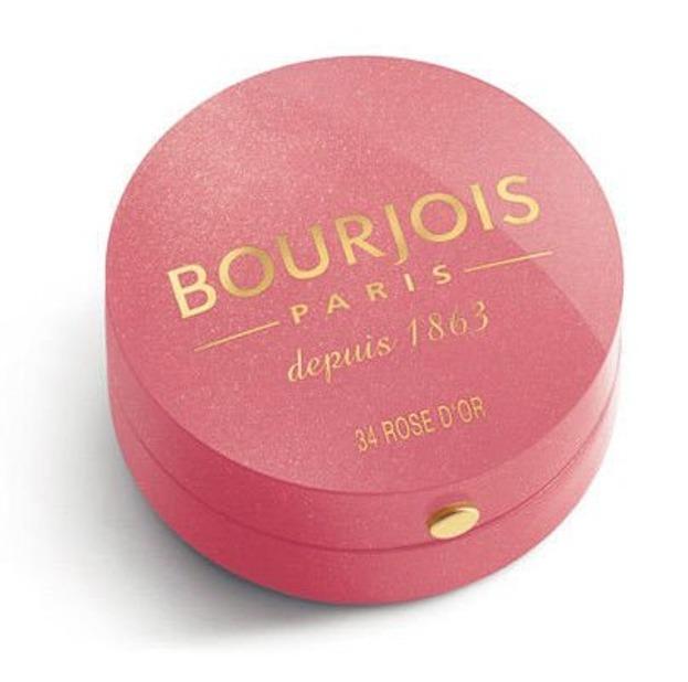 Bourjois Blush- Róż do policzków, Kolor: 34 Rose D'or