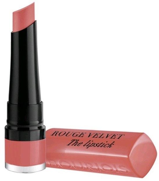 Bourjois Rouge Velvet the lipstick Pomadka do ust 02 Flaming rose
