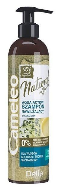 Cameleo Natural On Your Hair Aqua Action Szampon nawilżający do włosów z olejem Chia 250ml