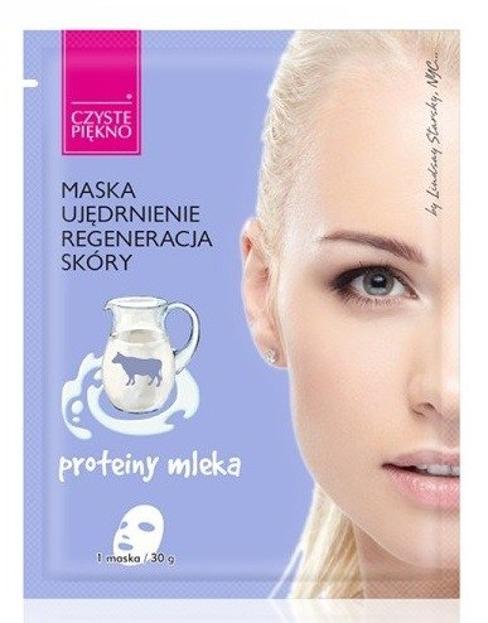 Czyste Piękno Maska Ujędrnienie Proteiny mleka