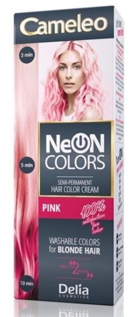 Delia Cameleo Neon Colors Farba do włosów Różowa