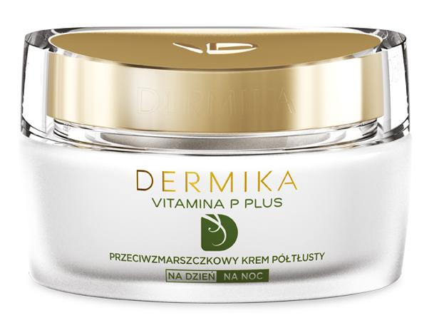 Dermika Vitamina P Plus Przeciwzmarszczkowy krem półtłusty 50ml