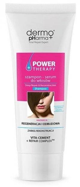DermoPharma Power Therapy Szampon do włosów Odbudowa 240ml
