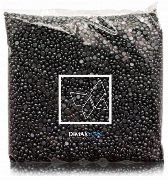 Dimax Wosk w granulkach Czarny 500g