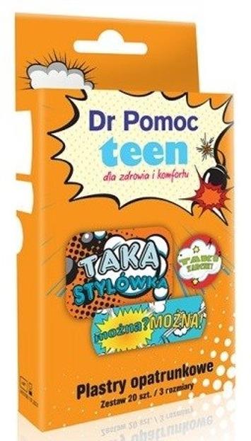 Dr Pomoc Plastry opatrunkowe Teen 20szt