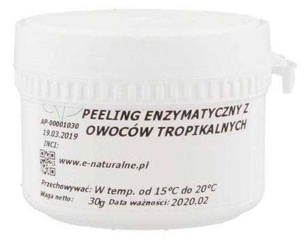 Peeling enzymatyczny z owoców tropikalnych, e-naturalne.pl