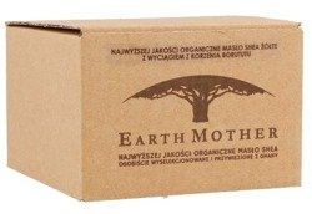 Earth Mother Masło Shea Żółte nierafinowane 180ml