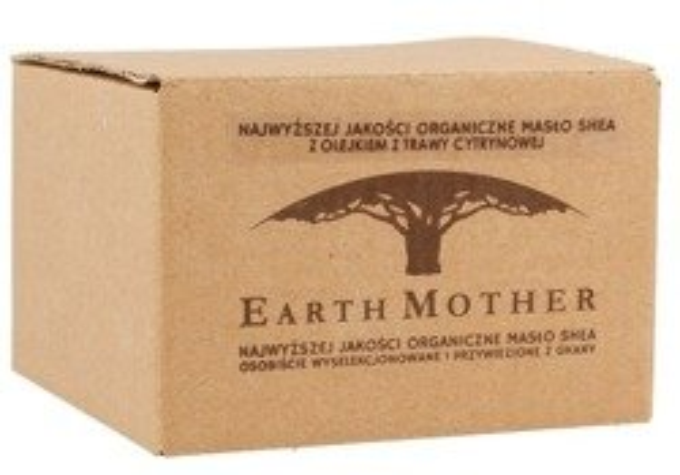 Earth Mother Masło Shea nierafinowane z olejkiem z trawy cytrynowej 180ml