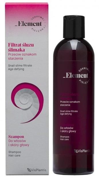 Element Filtrat śluzu ślimaka przeciw oznakom starzenia Szampon do włosów i skóry głowy 300ml