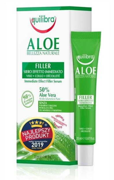 Equilibra Aloe Serum wypełniające do twarzy 20ml
