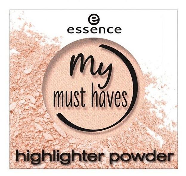 Essence My Must Haves Highlighter powder Puder rozświetlający 01 let it glow 1,7g
