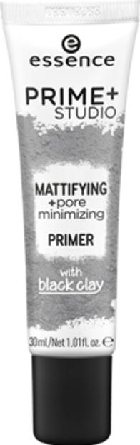 Essence Prime+ studio mattifying + pore minimizing primer Matująca baza zmniejszająca widoczność porów 30ml