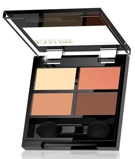 Eveline Cosmetics QUATTRO Eyeshadow Palette Paleta cieni do powiek 01 4x0,8g