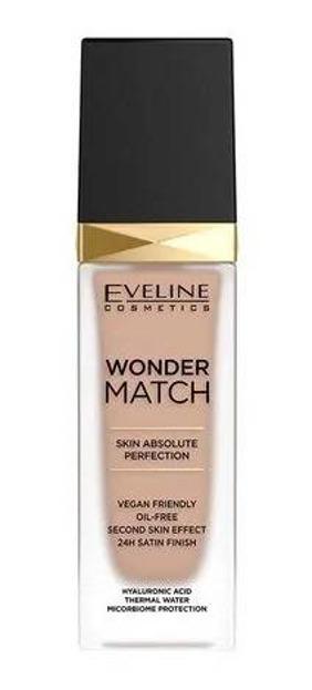 Eveline Cosmetics Wonder MATCH Luksusowy podkład dopasowujący się do skóry 20 Medium Beige 30ml