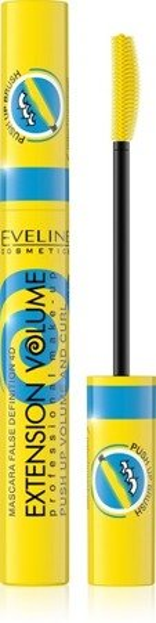 Eveline Extension Volume Push Up& Curl Podkręcający tusz do rzęs