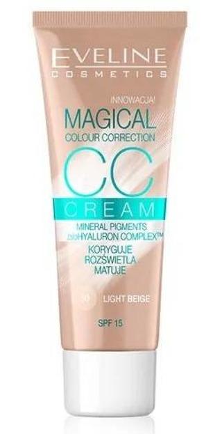Eveline Magical CC Cream Multifunkcyjny podkład 50 light beige 30ml