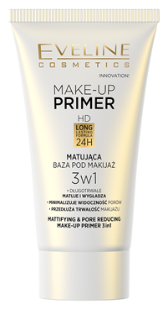 Eveline Make-Up Primer Matująca baza pod makijaż 3w1 30ml
