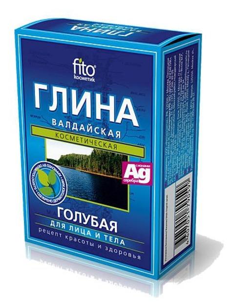 Fitokosmetik Wałdajska Glika Błękitna, 2 x 50 g