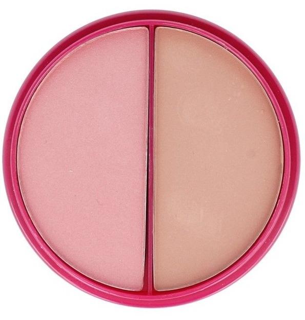 Flormar Blush-On Duo P116 Pink & Bronze Róż do policzków