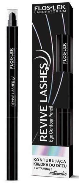 FlosLek Revive Lashes Eye Pencil Black Konturująca kredka do oczu