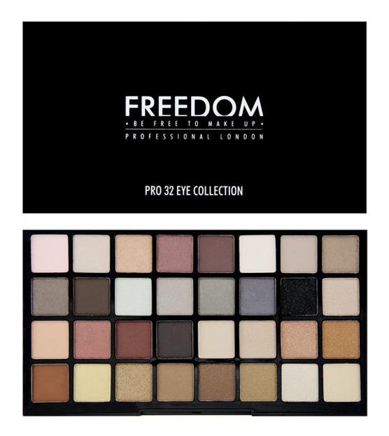 Freedom Makeup Collection 32 Eyeshadows - Paleta 32 cieni do powiek  Innocent