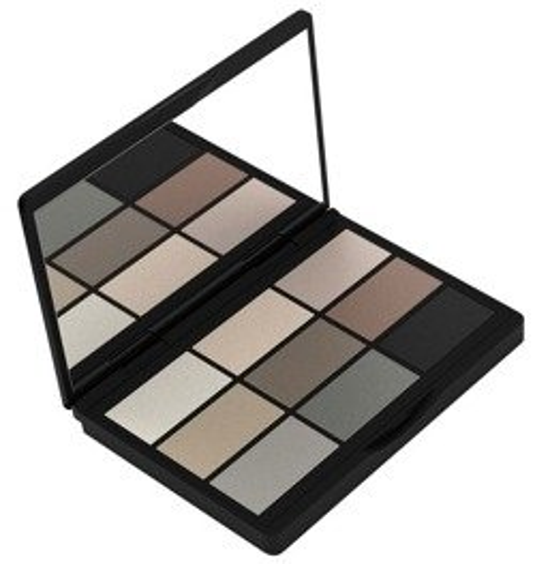 GOSH 9 Shades Shadow Collection - Paleta 9 cieni do powiek 004 To Be Cool In Copenhagen 12 g [KOSM001]