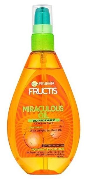 Garnier Fructis Cudowny olejek do pielęgnacji włosów zniszczonych Termoochrona 150ml