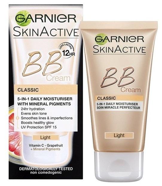 Garnier Nawilżający krem BB 5w1 Light 50ml