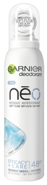Garnier Neo Dry-Mist Light Freshness Antyperspirant dla kobiet 150ml