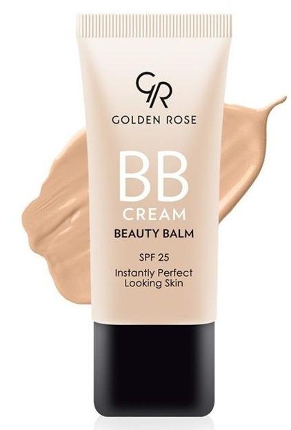 Golden Rose BB Cream SPF25 Lekki krem BB 03 Natural