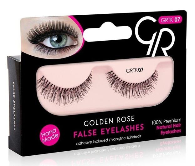 Golden Rose False Eyelashes Sztuczne rzęsy z klejem 07