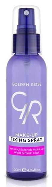 Golden Rose Make-Up Fixing Spray - Utrwalacz makijażu w sprayu 120ml