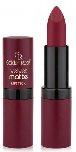 Golden Rose Velvet matte lipstick Matowa pomadka do ust 20