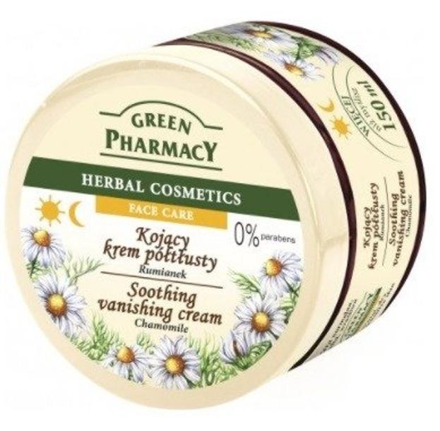 Green Pharmacy Kojący krem półtłusty Rumianek 150ml