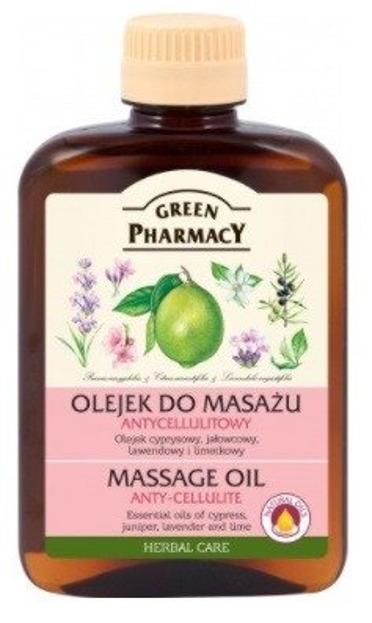 Green Pharmacy Olejek do masażu Antycellulitowy 200ml