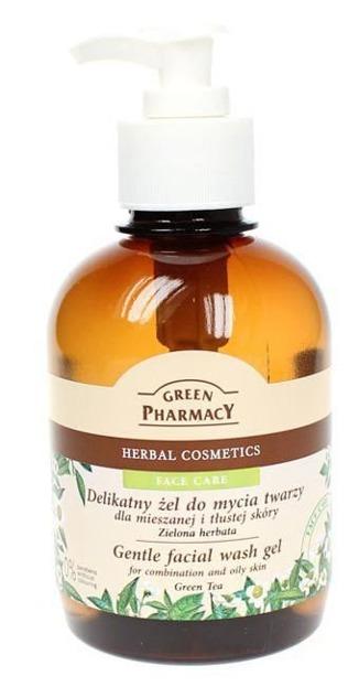 Green Pharmacy Żel do mycia twarzy Zielona Herbata Delikatny 270ml