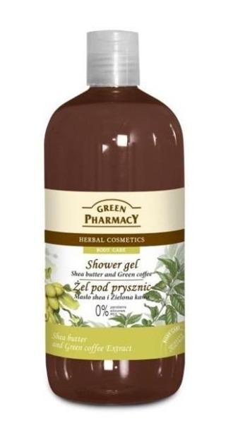 Green Pharmacy Żel pod prysznic Masło Shea i Zielona Kawa, 500 ml