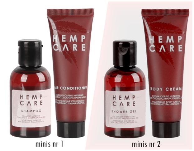 Hemp Care Eye Serum pod oczy z organicznym olejek konopnym 15ml + zestaw minis GRATIS
