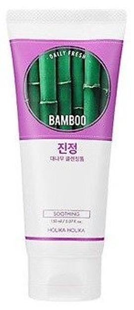 Holika Holika Daily Fresh Bamboo Cleansing Foam - Oczyszczająca pianka do twarzy z ekstraktem z soku liści bambusa 150ml