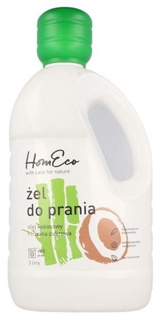 HomEco Żel do prania kokos i trzcina cukrowa 3l