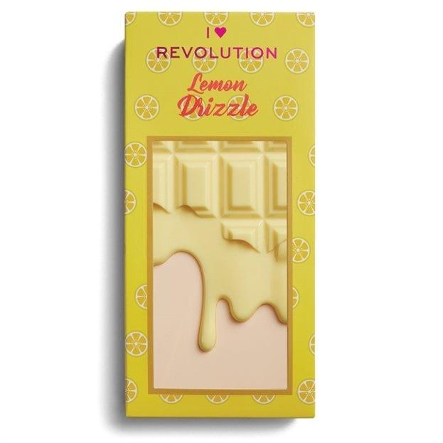 I Heart Revolution Lemon Drizzle Chocolate Palette CZEKOLADA