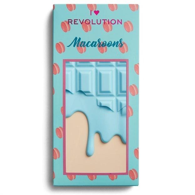 I Heart Revolution Macaroons Chocolate Palette Paleta cieni do powiek CZEKOLADA