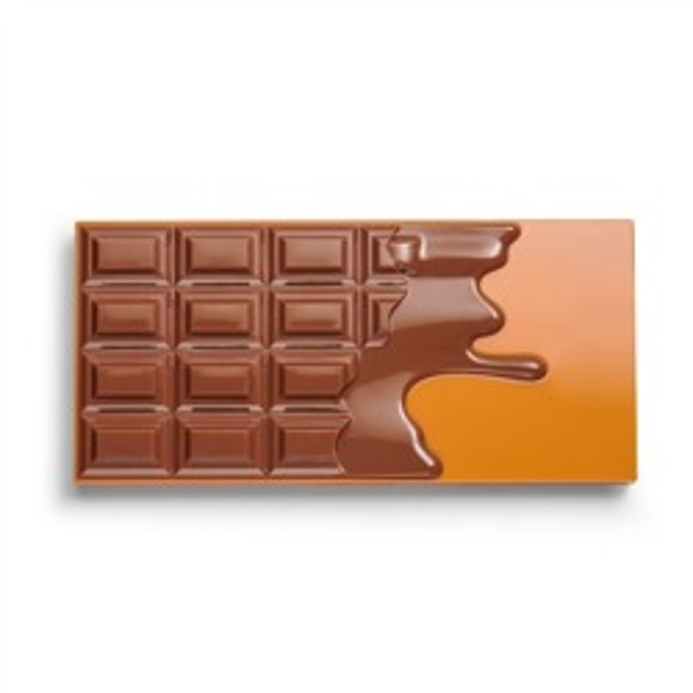 I Heart Revolution Peanut Butter Paleta cieni do powiek CZEKOLADA