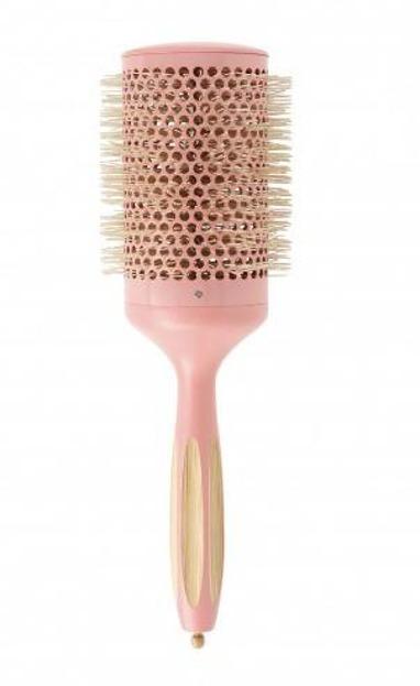 ILU Okrągła szczotka do modelowania włosów Bamboom Round 65mm SWEET TANGERINE