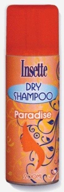 Insette Dry Shampoo Paradise Suchy szampon 200ml