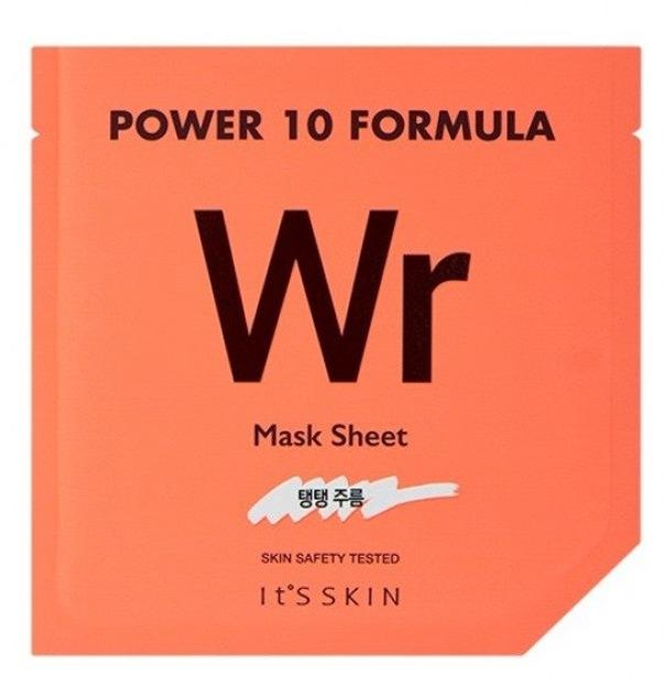 It's Skin Power 10 Formula Mask Sheet Wr Przeciwzmarszczkowa maska w płacie 25ml