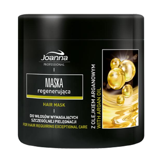 Joanna PRO Maska regenerująca z olejkiem arganowym, 500 g